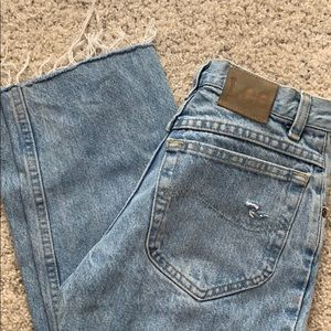 Vintage High waisted Lee Jeans (Size 23/24)